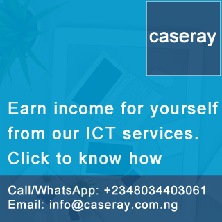 Make money off the Caseray Solutions ICT services in Nigeria