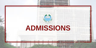 2019 ADMISSION INTO THE UNILAG SCHOOL OF FOUNDATION STUDIES (FORMERLY FOUNDATION PROGRAMMES)