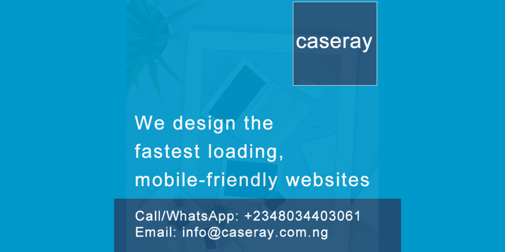 Caseray Solutions designs the fastest loading mobile friendly websites