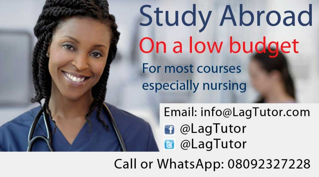 Application form for Admission into School of Nursing and ...